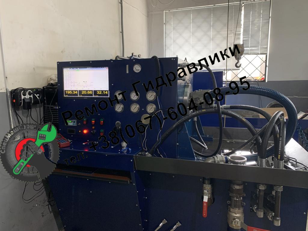 Ремонт, испытание и регулировка гидронасоса Komatsu