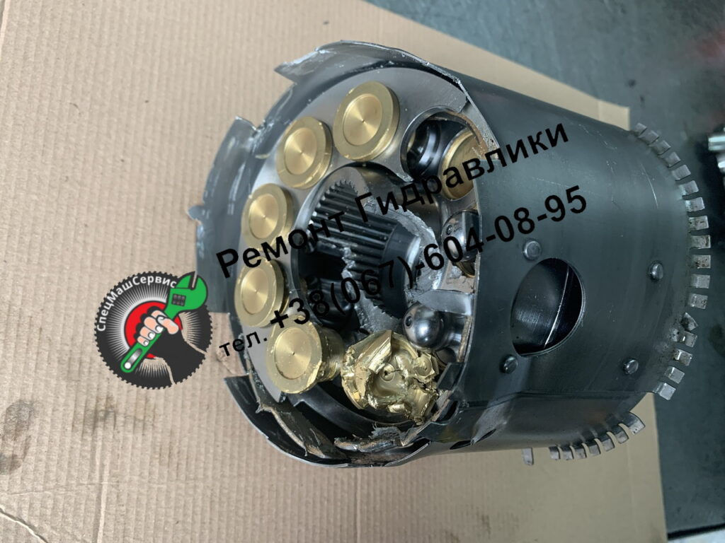 Ремонт гидромотора Sauer 90M100