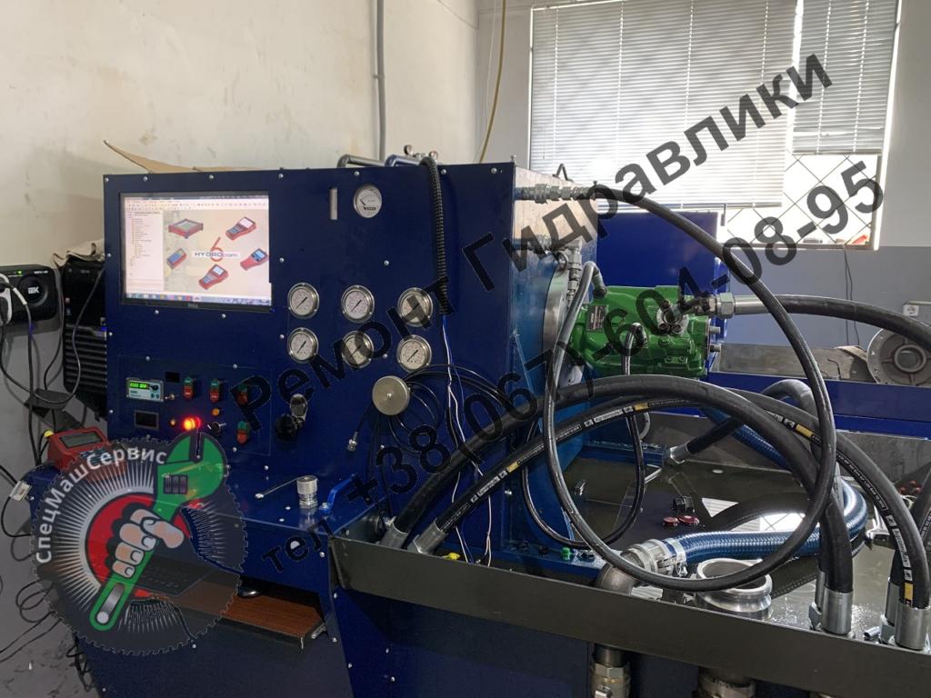 Ремонт, испытание и регулировка гидронасоса  Vickers