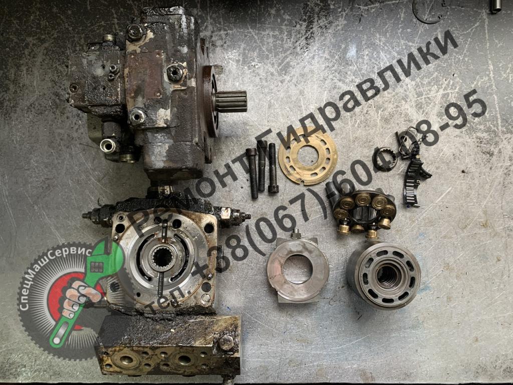 Ремонт гидронасоса Bosch Rexroth A10VG