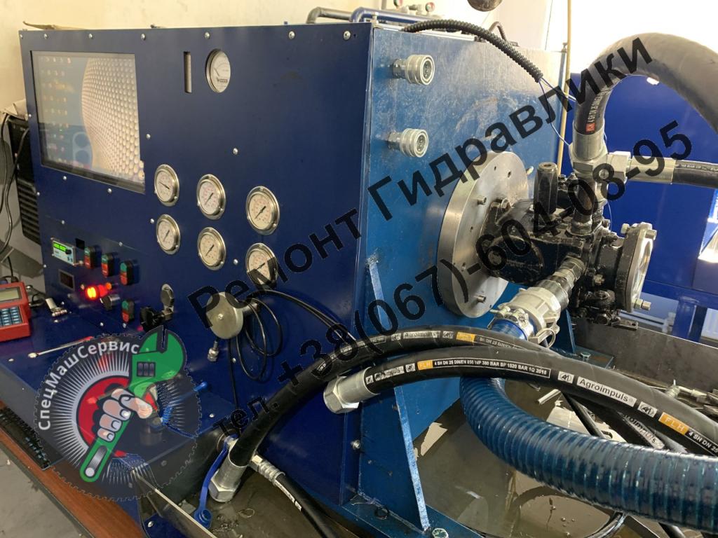 Ремонт и регулировка гидронасоса Sauer Danfoss  42R41