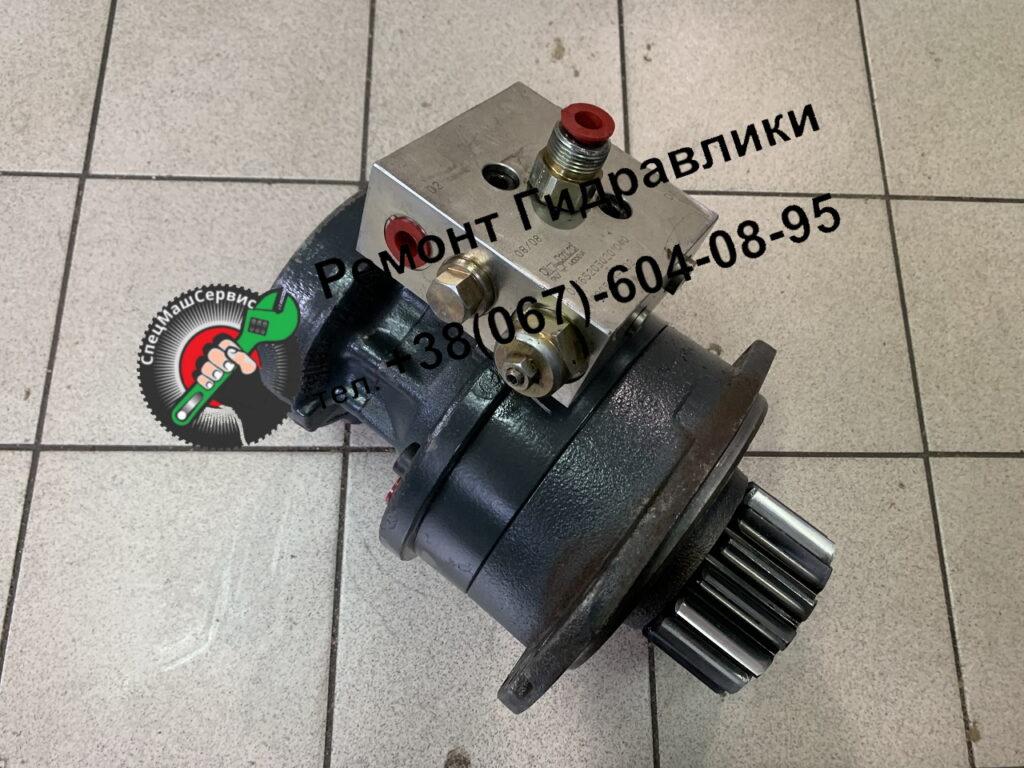 Ремонт гидромотора Poklain MS4 на бортовую минипогрузчика